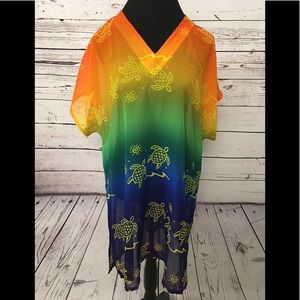 Other - NWT From Hawaii, Rainbow Sheer Coverup